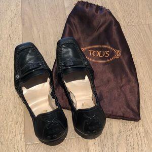 Foldable Tod's flats